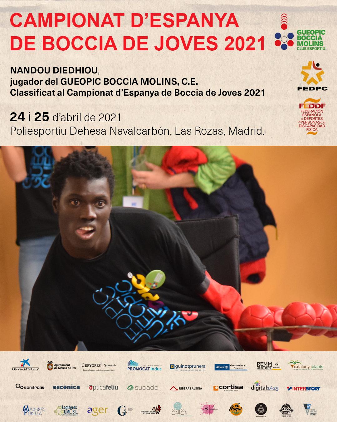 CAMPIONAT D'ESPANYA BOCCIA JOVES